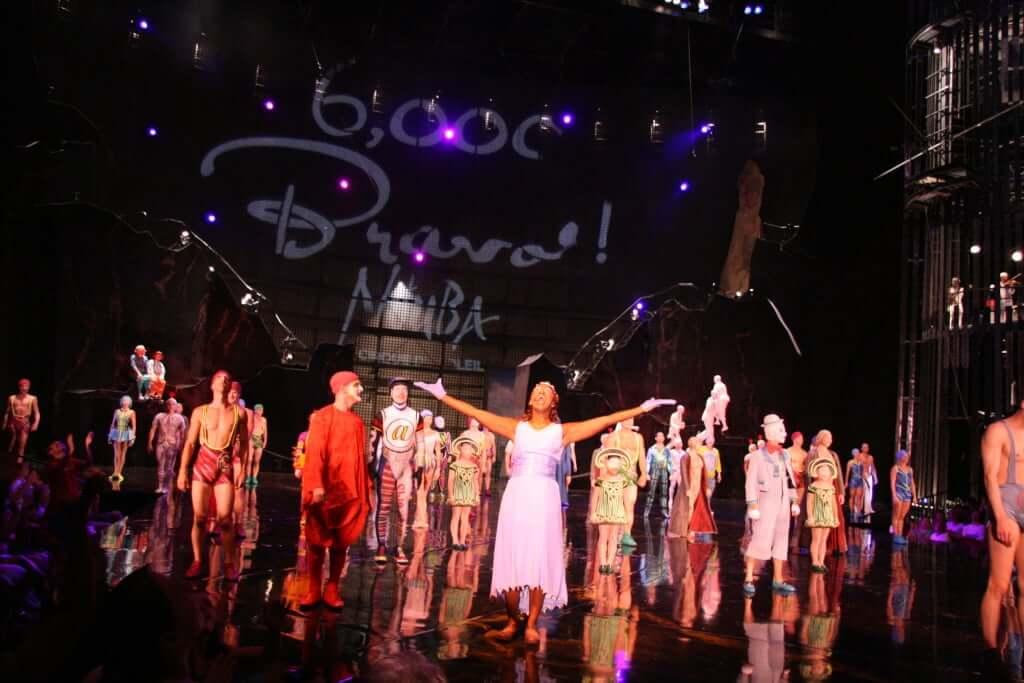 Cirque du Soleil La Nouba na Disney Orlando: espetáculo