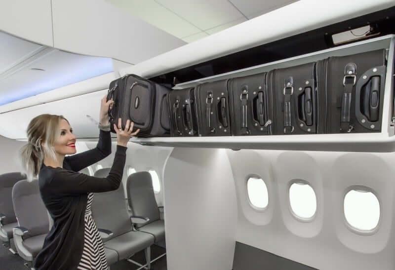 Bagagem e mala de mão em voos internacionais 3