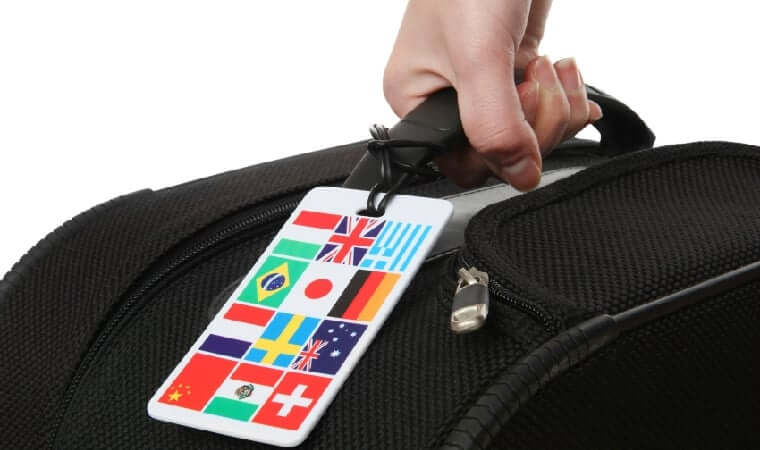 Bagagem e mala de mão em voos internacionais 5