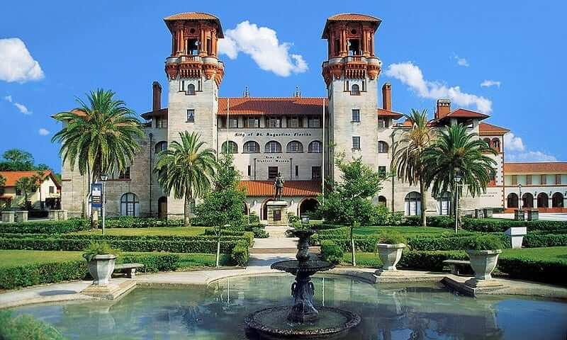 Cidades legais perto de Orlando: Saint Augustine