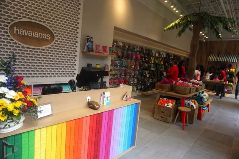 Loja da Havaianas na Disney em Orlando