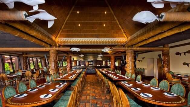 Alimentação gratuita na Disney Orlando em 2017: restaurante Ohana da Disney