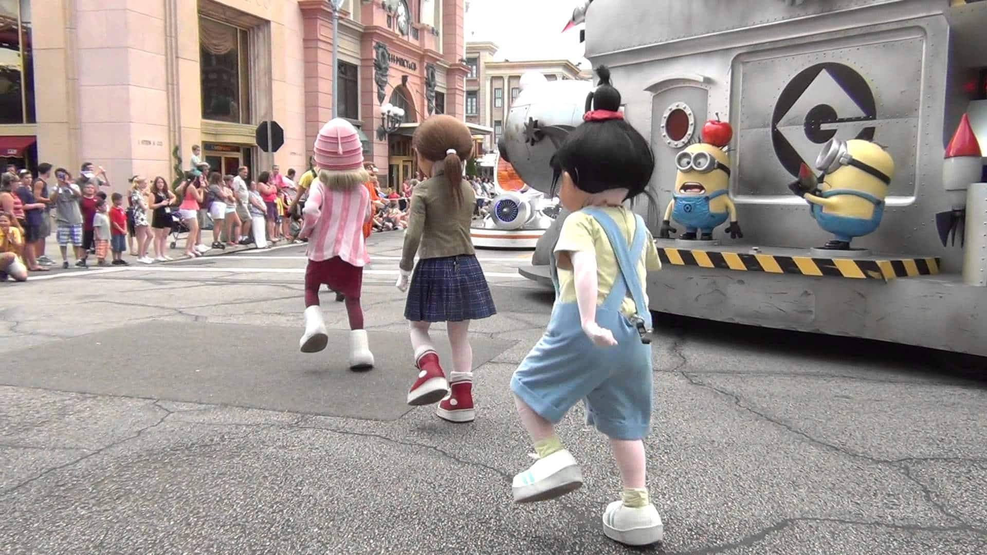 Universal's Superstar Parade em Orlando: Meu Malvado Favorito e Minions