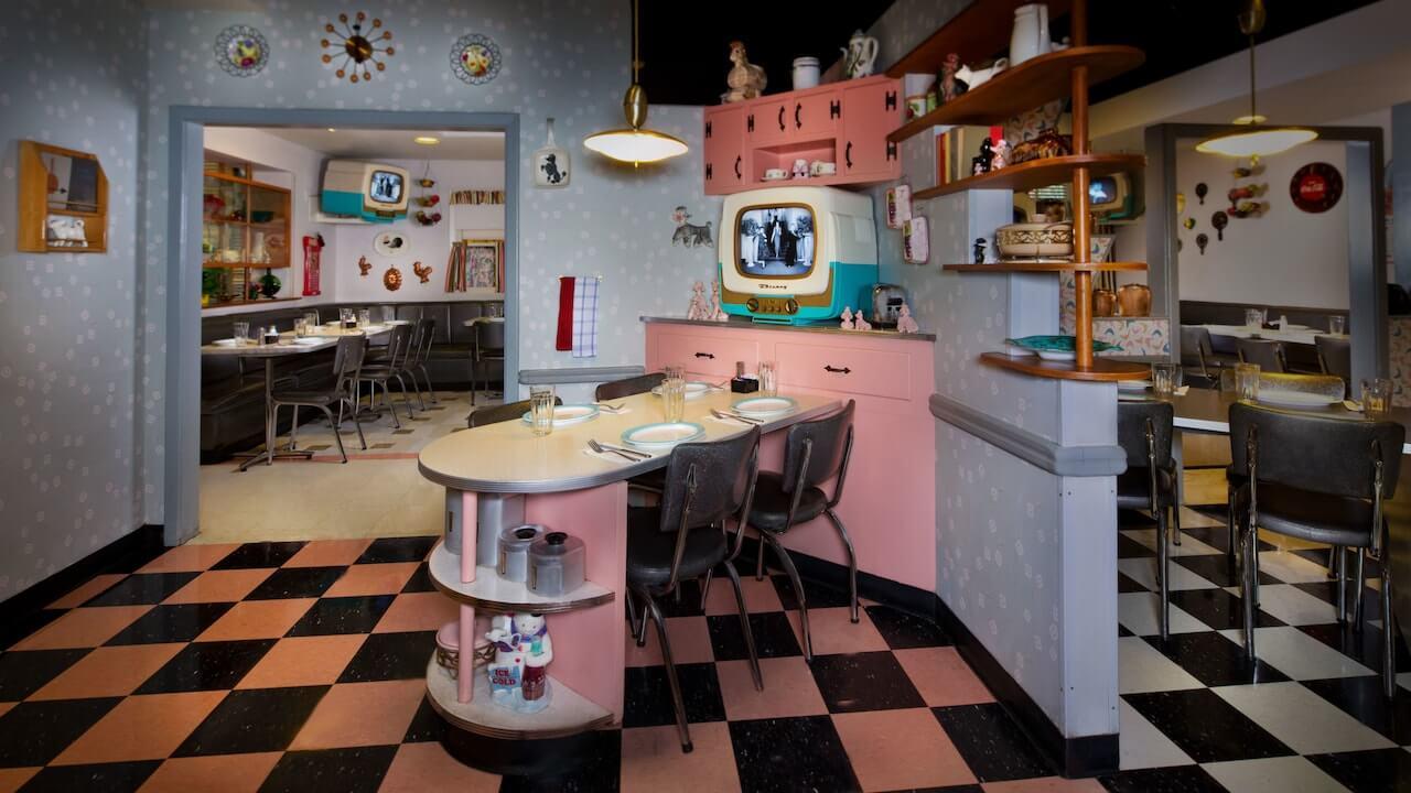 Onde comer com crianças na Disney e Orlando: 50's Prime Time Café