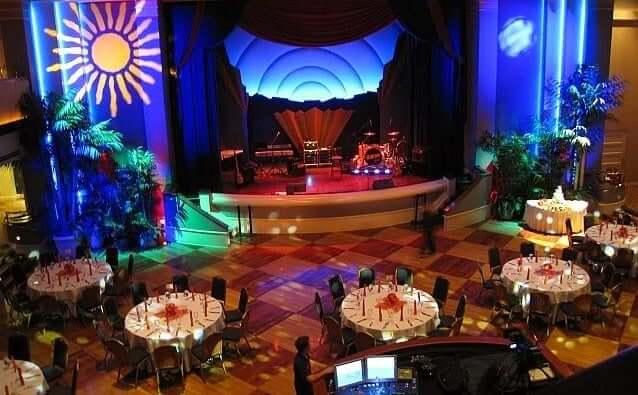 Discoteca Atlantic Dance Hall na Disney Orlando: interior do local