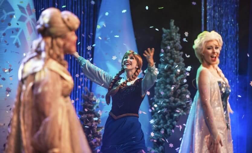 Musical do Frozen Sing-Along Celebration na Disney Orlando: A Frozen Sing-Along Celebration