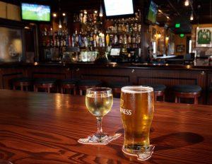 Pub Irlandês Frankie Farrell's em Orlando: cervejas e bebidas