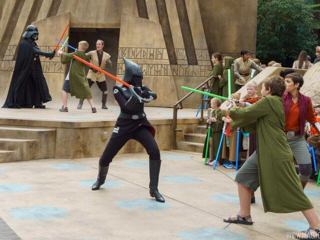 Jedi Training Academy no Disney Hollywood Studios Orlando