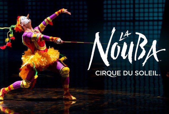 Cirque du Soleil La Nouba na Disney Orlando