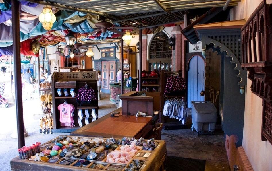 Loja Agrabah Bazaar na Disney: produtos