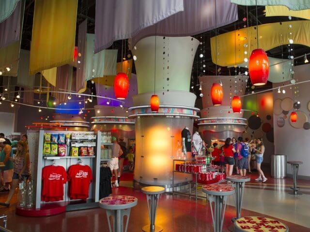 Loja Club Cool da Coca-Cola em Orlando