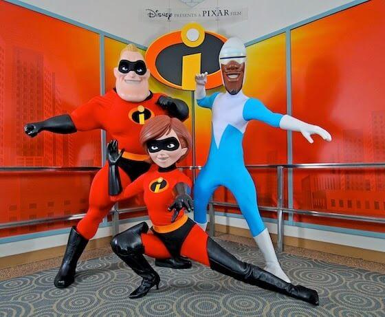 Os Incríveis no Disney Hollywood Studios Orlando