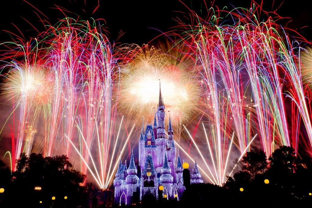 Melhores lugares para assistir aos shows da Disney Orlando: Happily Ever After no Disney Magic Kingdom