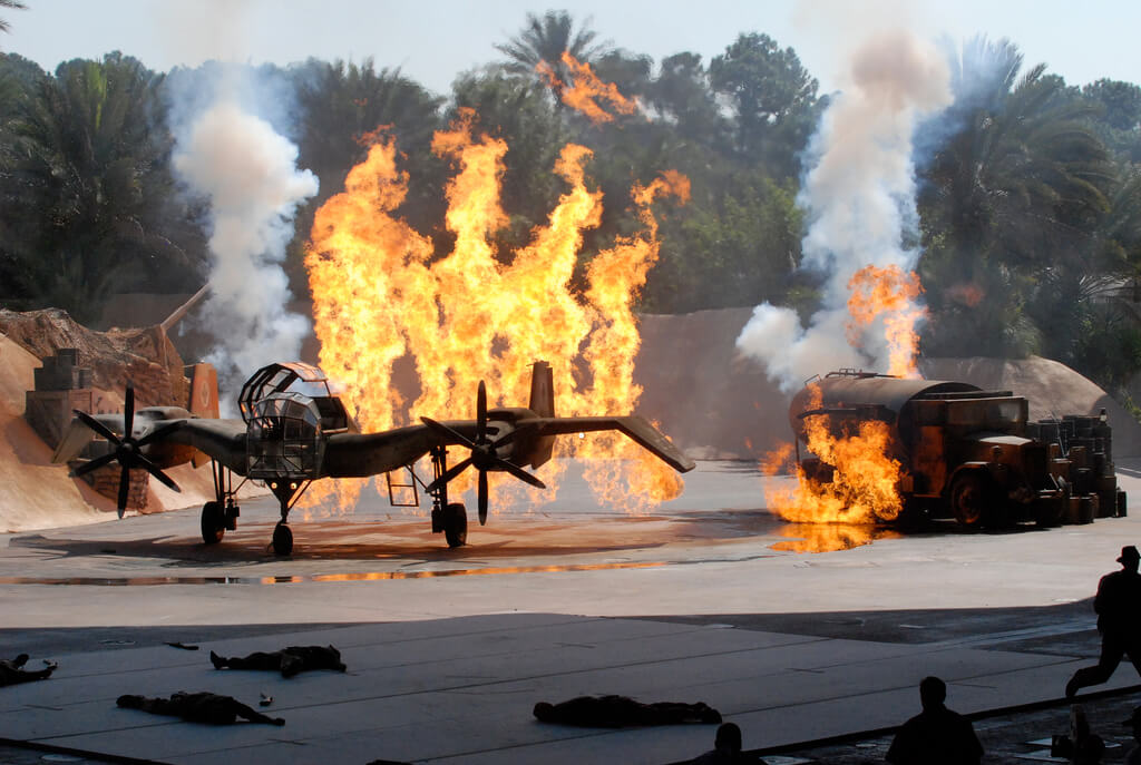 Show do Indiana Jones na Disney Orlando: indiana Jones Epic Stunt Spetacular