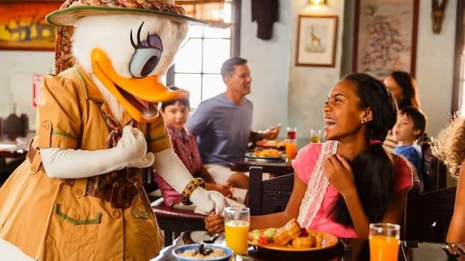 Restaurantes da Disney com personagens: restaurante Tusker House