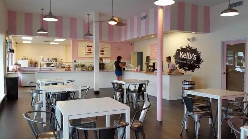 Onde tomar sorvete em Orlando: Kelly's Homemade Ice Cream