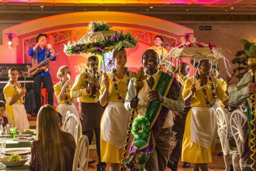 Cruzeiro Disney Wonder: Tiana's Place