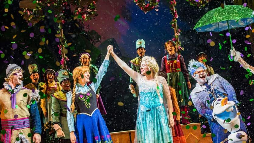 Musical do Frozen Sing-Along Celebration na Disney Orlando