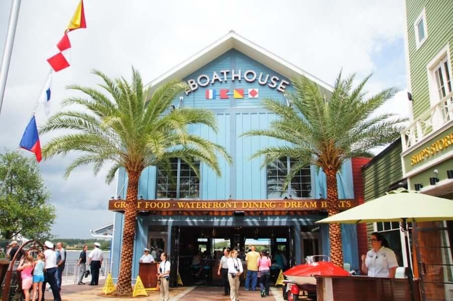 Disney Springs Orlando: The Boathouse