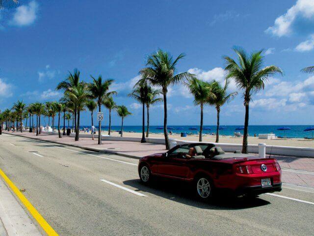 Viagem de carro de Orlando a Miami (e de Miami a Orlando)