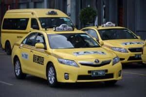 Como andar em Orlando e na Disney: táxi