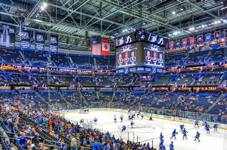 O que fazer em Tampa: Amalie Arena
