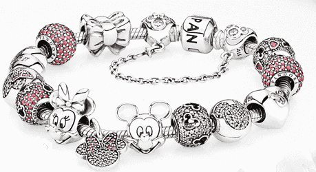 6b4c4b6cca5 Charms e berloques da Disney para pulseiras Pandora - 2019