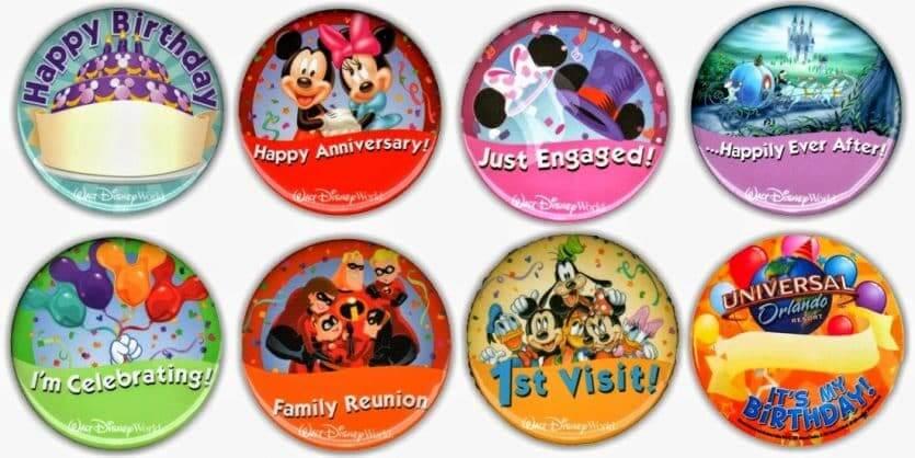 10 dicas para ir à Disney e Orlando com crianças: pins da Disney