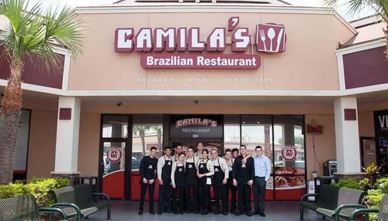 Restaurantes brasileiros em Orlando: Camila's Restaurant