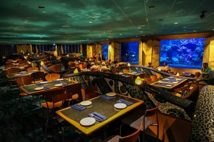 Melhores restaurantes da Disney Orlando: Coral Reef Restaurant