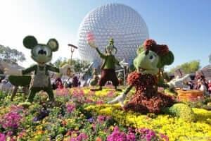 Disney e Orlando no mês de abril: Disney's Flower & Garden Festival