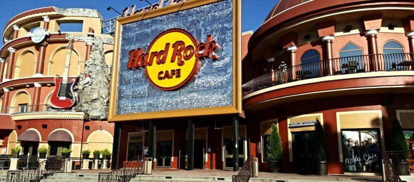 Restaurante Hard Rock Cafe em Orlando