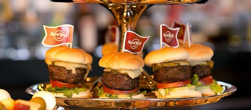 Restaurante Hard Rock Cafe em Orlando: comida