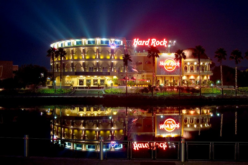 Restaurante e balada Hard Rock Cafe em Orlando 3