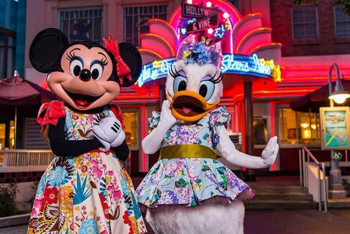 Restaurantes da Disney com personagens: Hollywood & Vine