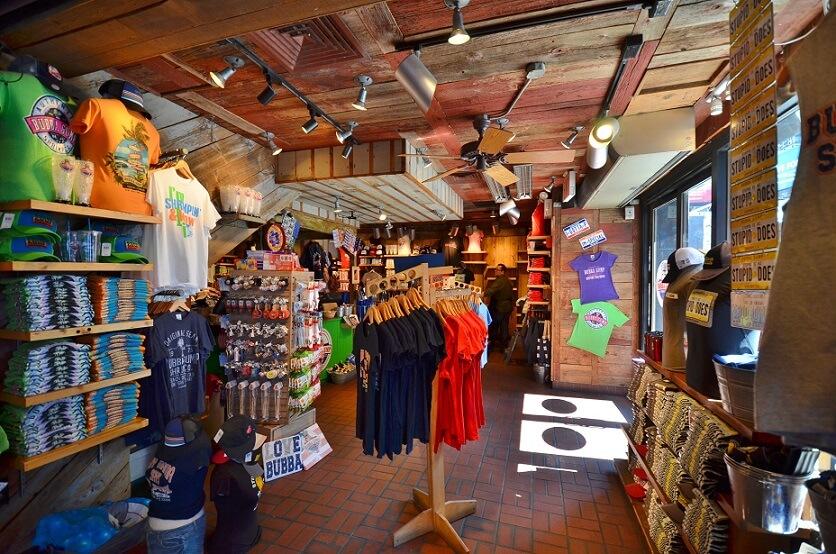 Restaurante Bubba Gump em Orlando: loja