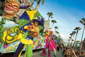 Disney e Orlando no mês de abril: Mardi Gras