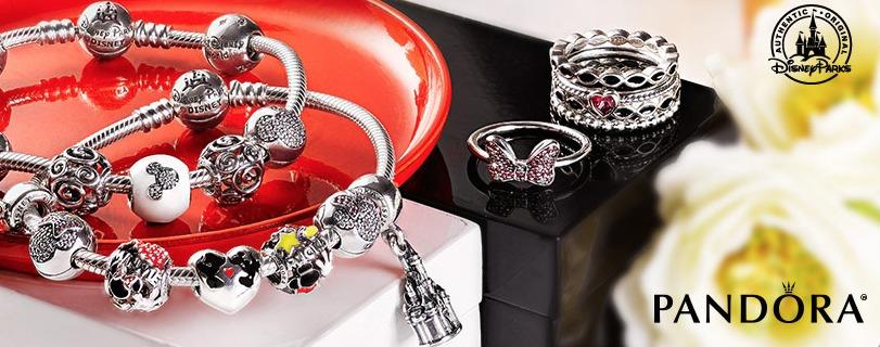 Comprar pulseiras e charms Pandora em Orlando