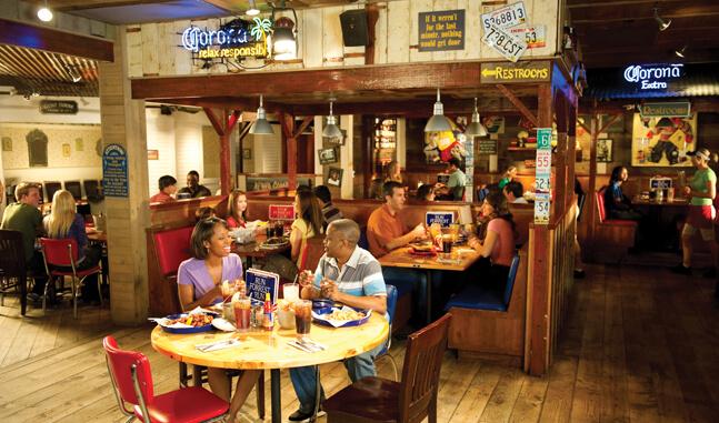Restaurante Bubba Gump em Orlando 5