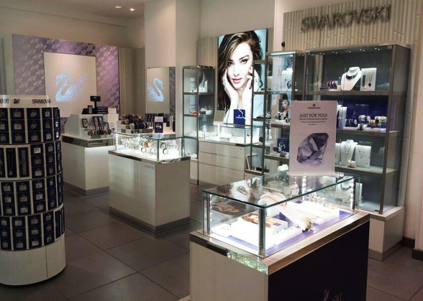 Onde comprar joias em Orlando: Swarovski