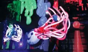 Show do Blue Man Group na Universal Orlando: apresentação