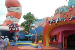 7 brinquedos para crianças em Orlando: The Cat in the Hat