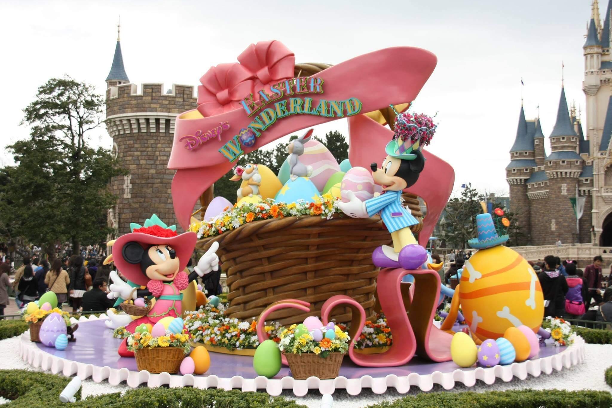 Disney e Orlando no mês de abril: Páscoa