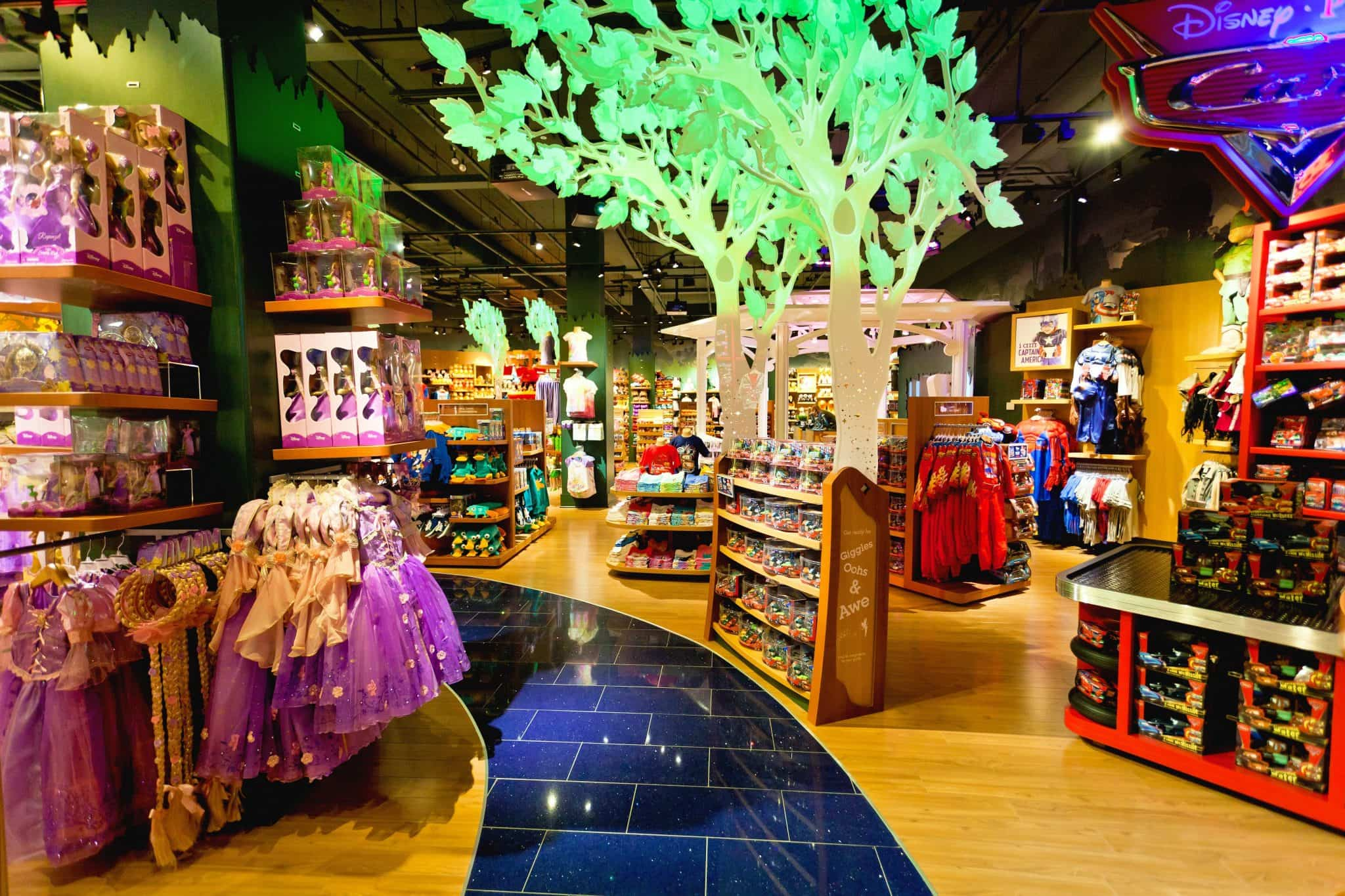 Disney's Character Warehouse, located at Orlando International Premium Outlets®: Disney retail chain featuring official character toys, clothes, collectibles & more.