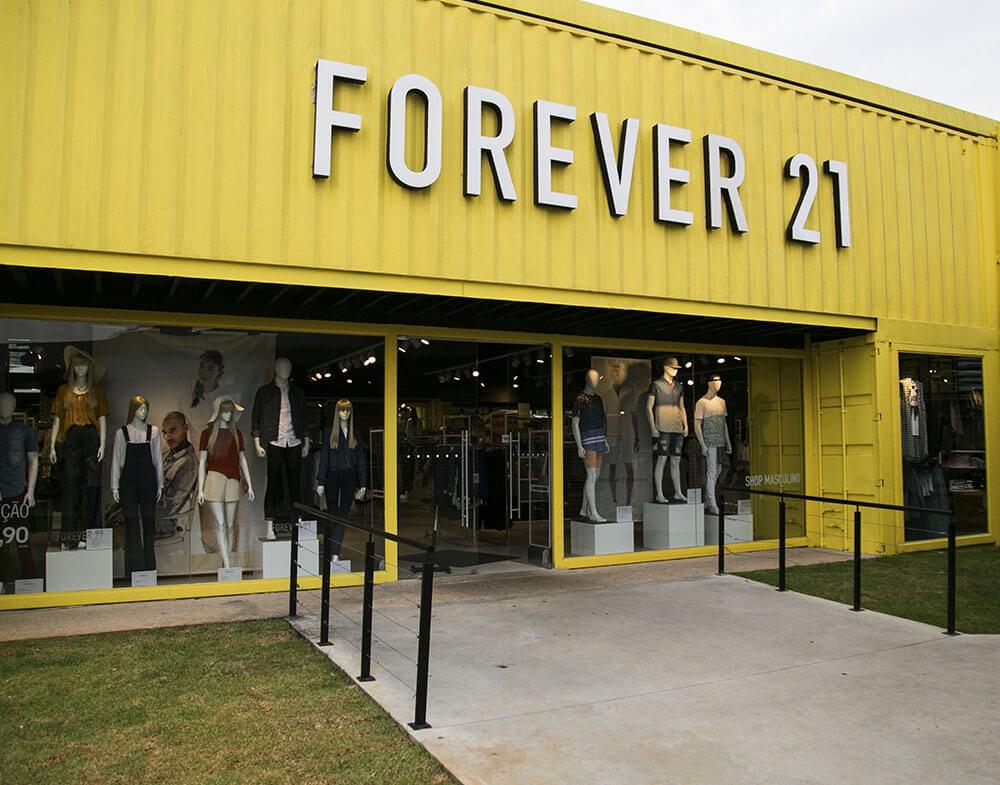 Lojas Forever 21 em Orlando: Outlet Premium