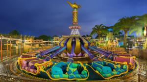 7 brinquedos para crianças em Orlando: The Magic Carpets of Aladdin