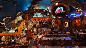 Restaurante Planet Hollywood na Disney Orlando: ambiente