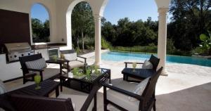 Aluguel de casa em Orlando: área de lazer