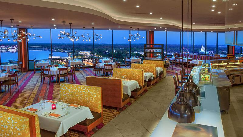 Restaurantes românticos em Orlando: California Grill