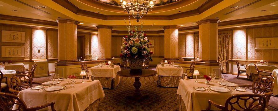 Restaurantes românticos em Orlando: Victoria and Albert's